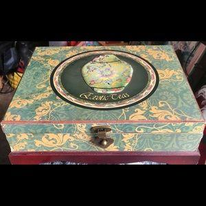 Other - TEA ACCENTS DECORATIVE BOX